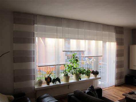 Gardinen Für Großes Fenster Mit Balkontür