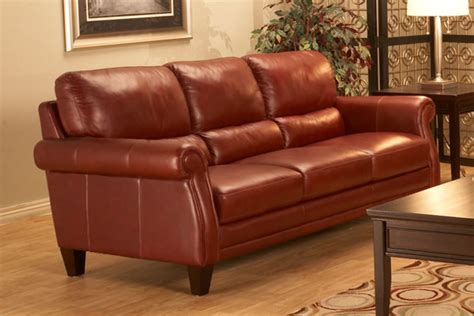 Gardner Leather Sofa
