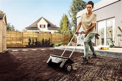 Garten Anlegen Rasen Säen