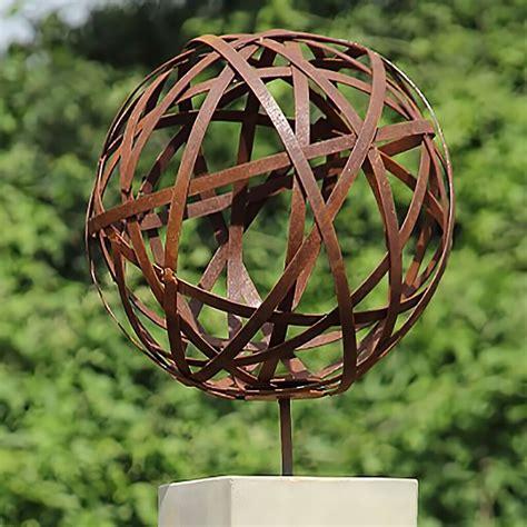 Garten Deko Kugel Metall