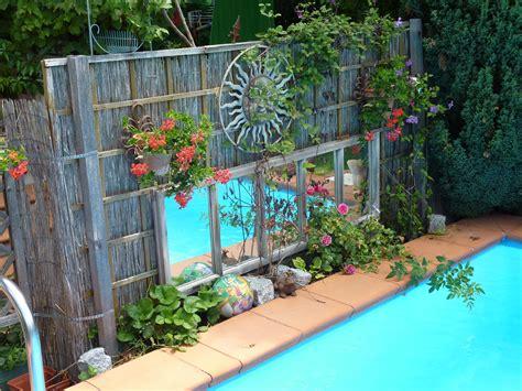 Garten Deko Pool