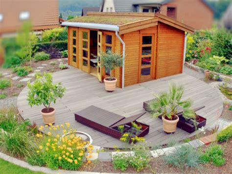 Garten Gestalten Gartenhaus