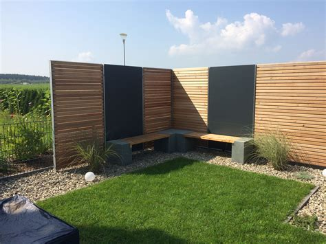 Garten Sichtschutz Design