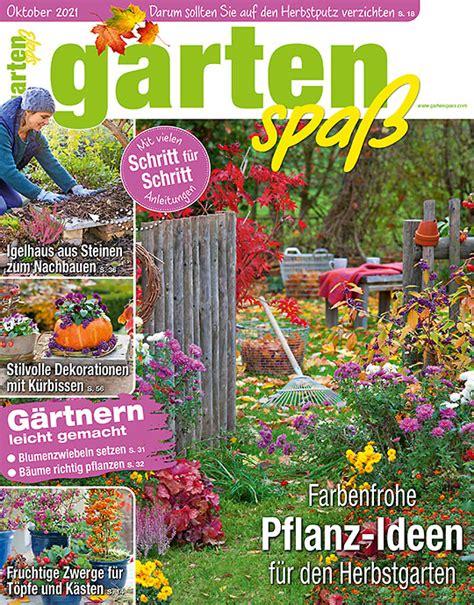 Garten Zeitschrift Gartenspaß