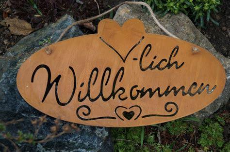 Gartendekoration Schild
