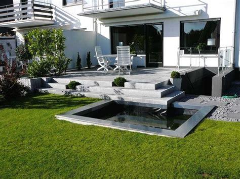 Gartengestaltung Hanglage Modern