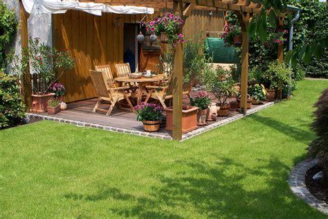 Gartengestaltung Ideen Mit Holz