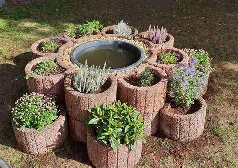 Gartengestaltung Mit Pflanzsteinen