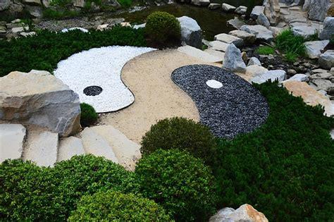 Gartengestaltung Yin Yang