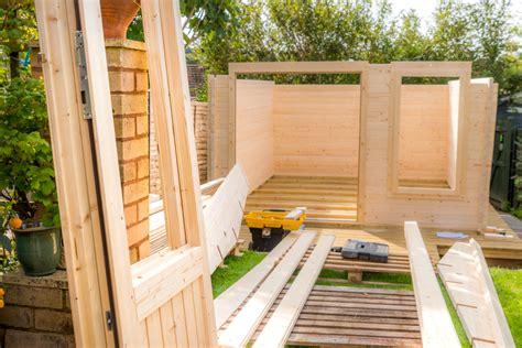 Gartenhaus Aufstellen