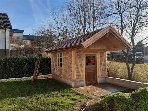 Gartenhaus Fachwerk