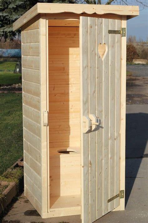 Gartentoilette Holz