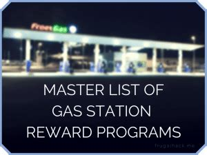 Gas Credit Card For Kroger Master List Of Gas Station Rewards Programs Doctor Of Credit