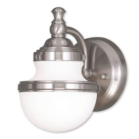 Gass 1-Light Bath Sconce