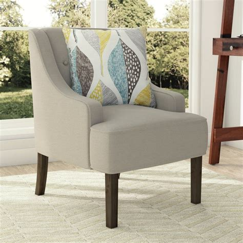 Gebhardt Tufted Swoop Armchair
