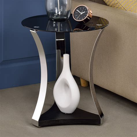 Geiger Glass End Table