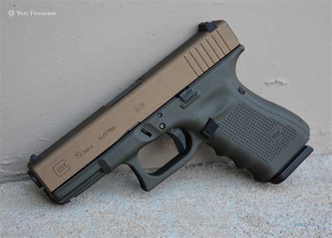 Glock-19 Gen 4 Glock 19 Bronze.