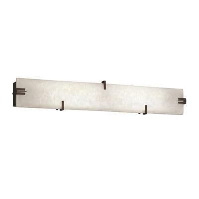 Genaro 2-Light Oval Shade Vanity Light