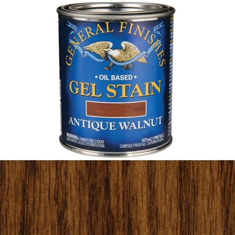General Finishes Walnut Stain