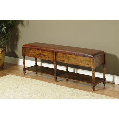 Georgetown Wood Storage Bench