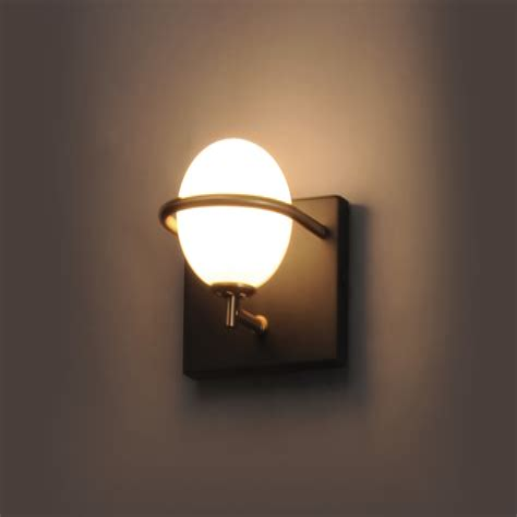 Georgetta 1-Light Glass LED Bath Sconce