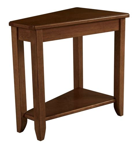 Gertie Wedge Chairside Table