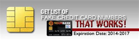 Credit Card Cvv Does Not Match Get List Of Fake Credit Card Numbers That Work 2017