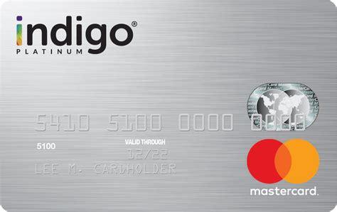 Credit Card Mastercard Free Get The Indigor Platinum Mastercardr Credit