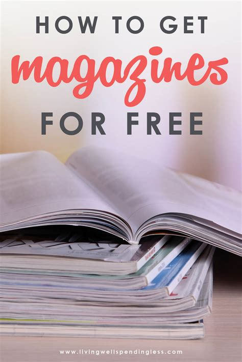 Get Free Magazines