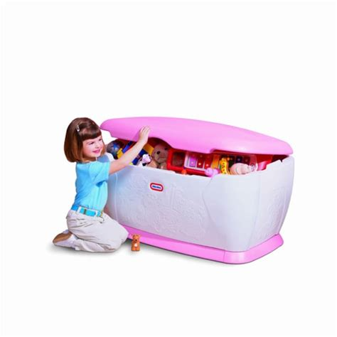giant toy chest pink