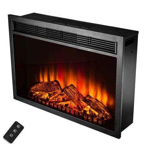 Gilcrease Electric Fireplace Insert