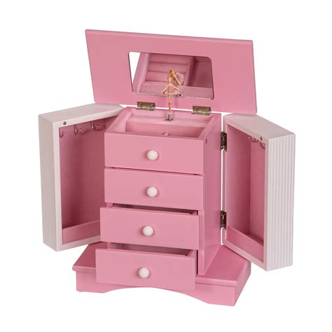 girls wooden jewelry box