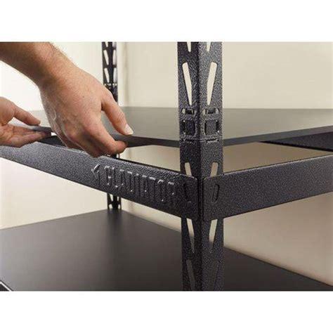 Gladiator EZ Connect Rack 48 Wide EZ Connect Rack with Five 24 Deep Shelves