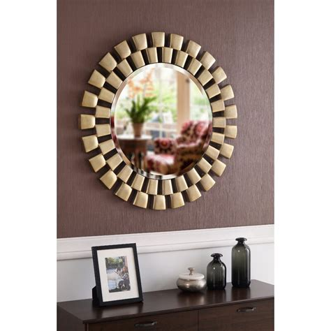 Glam Beveled Accent Mirror