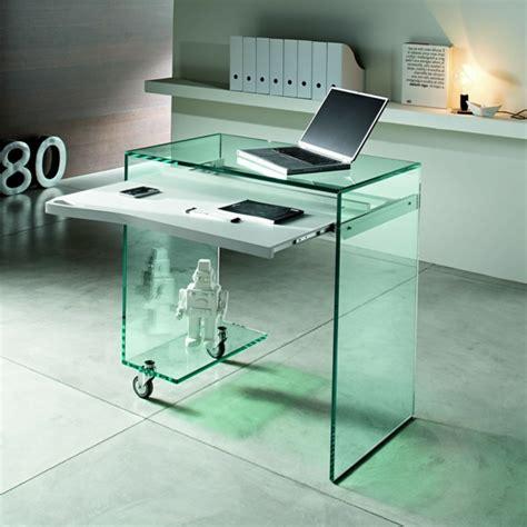 Glas Computertisch