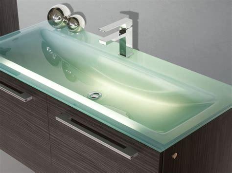 Glas Waschbecken 120 Cm