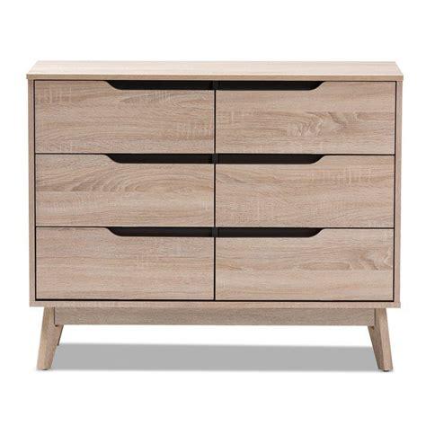 Glastenbury Modern 6 Drawer Standard Dresser/Chest byGeorge Oliver