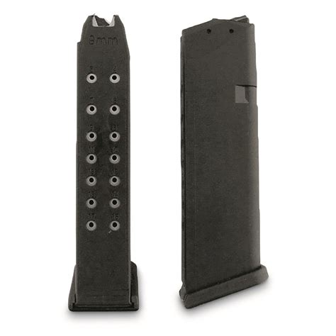 Glock-19 Glock 19 9mm 15 Round Factory Magazine.