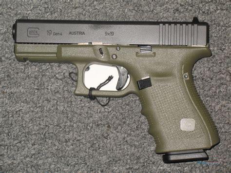 Glock-19 Glock 19 9mm 4th Gen Battlefield Green Price.