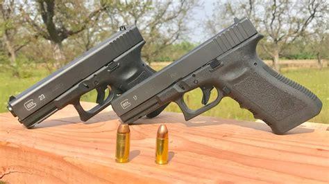 Glock-19 Glock 19 9mm Vs 40.