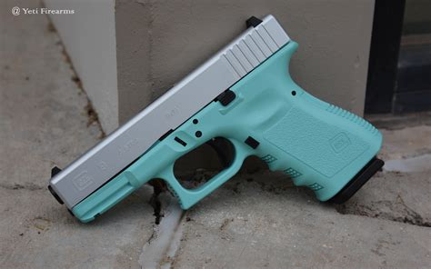 Glock-19 Glock 19 Blue Gun For Sale.