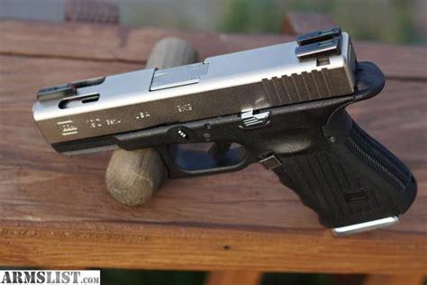 Glock-19 Glock 19 Chrome Slide.