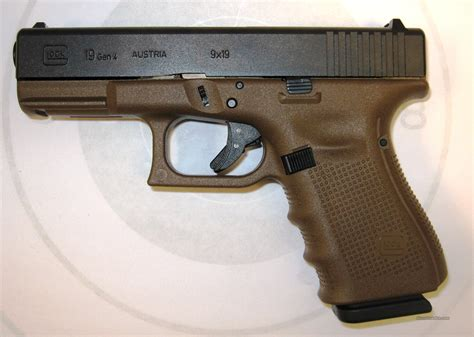 Glock-19 Glock 19 Dark Earth For Sale.