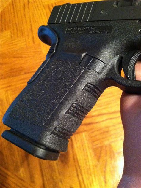 Glock-19 Glock 19 Finger Groove Removal.