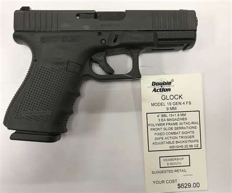 Glock-19 Glock 19 Fs Gen 4 For Sale.
