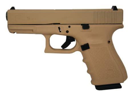 Glock-19 Glock 19 G4 9mm 15 1 4 Desert Sand.
