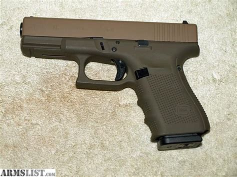 Glock-19 Glock 19 Gen 4 Brown.
