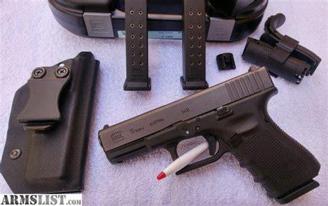 Glock-19 Glock 19 Gen 4 Tenifer Finish.