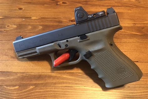 Glock-19 Glock 19 Gen 4 That Has Rebuilt On Factory Box.
