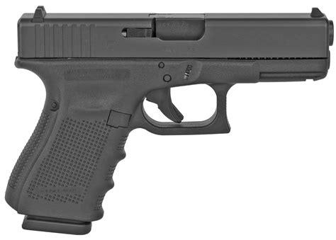 Glock-19 Glock 19 Gen4 9mm Compact Black New.